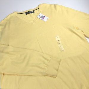 NWT Nautical long sleeve vneck sweater  men's XXL